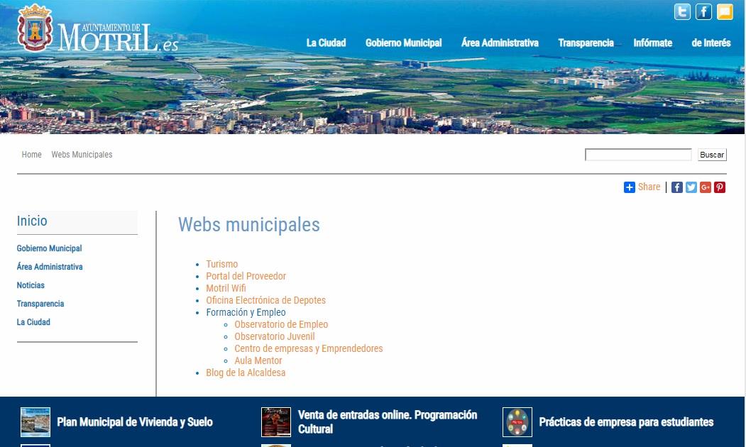 Ayuntamiento de Motril Para toda la información y gestión municipal