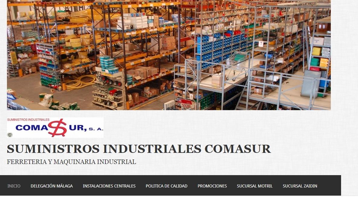 ComaSur. S.A Todo tipo de suministros y utillaje para la industria.