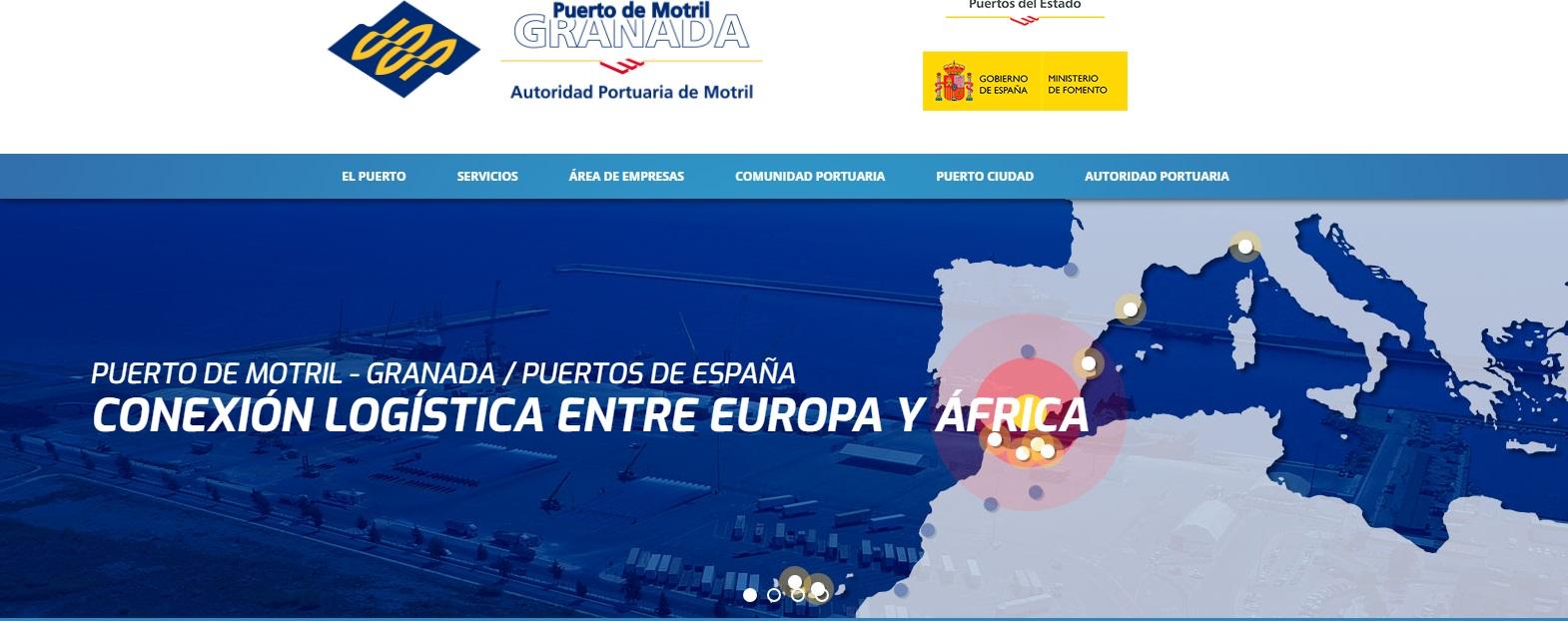 Autoridad Portuaria de Motril En esta página puede encontrar todo lo referente a las actividades Portuarias, empresas concesionarias de sus instalaciones, consignatarios de Aduanas, últimas noticias etc.