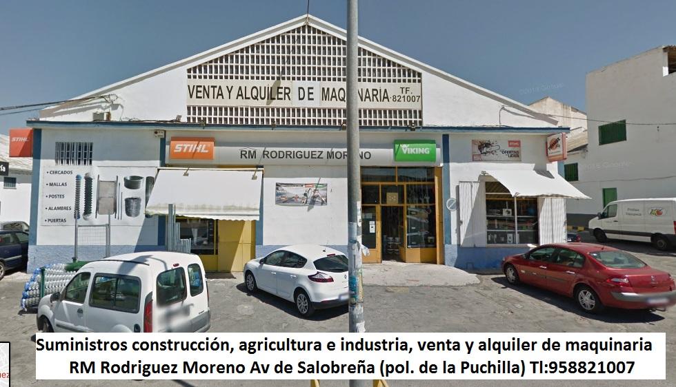 Suministros industriales, agricolas y construcción RM