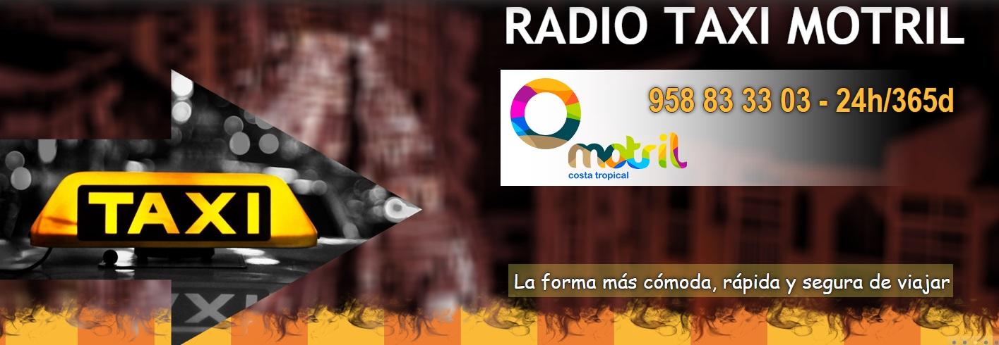 Radio Taxi Motril Servicio de taxi 24h/365d